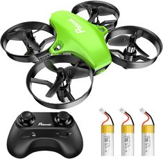 Syma X20 Mini Drones without Camera,2.4Ghz 4Channel Gyro RC Quadcopter Drone with Altitude Hold Headless Mode 3D Flips One Key Take-Off and Two Speed Mode Indoor Drones for kids Blue