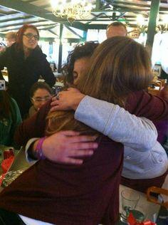 El abrazo mejor de todo el mundo ♥
