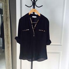 Calvin Klein blouse Worn twice. Great condition Calvin Klein Tops Blouses