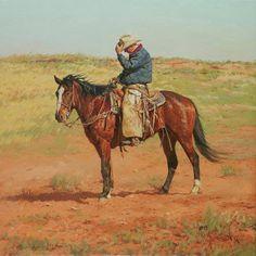 Silent Cowboy Sunday. (Via Bill Owen, Cowboy Artist http://www.billowenca.com/)