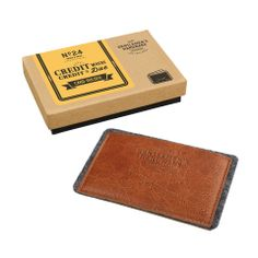 Gentlemen's Hardware Leather Card Holder design by Wild & Wolf Design3000, Atm Card, Cute Presents, Unique Gifts For Him, Shops, Kraft Gift Boxes, Luxury Purses, Paper Trail, Minimalist Wallet