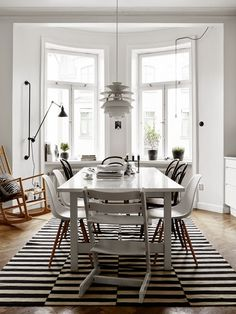 Styling by Pella Hedeby, photo by Kristofer Johnsson for Residence, via Interior Break