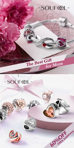 We\'re willing to bet that your mom is one of the most important ladies in your life. Surprise your beloved mother with SOUFEEL charms this Mother\'s Day! >>Shop now  & Get FREE bracelet!