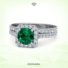 Awe-inspired emerald #liveincolor