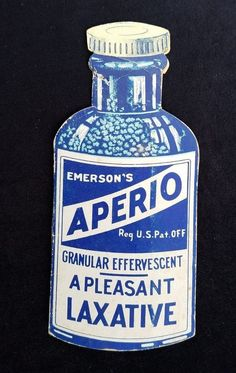 Old Needle Pack Emerson Drug Baltimore MD Aperio Bromo Seltzer Ginger Mint Julep