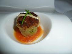 Trio appetizer (Part 2) at Rusty's Bistro at Sheraton Sand Key Resort. #ClwbTasteFest #ClwbRestaurantWeek