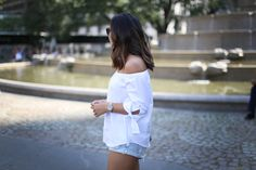 Off The Shoulders #CLUSE #watch #streetstyle #fashion