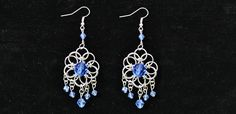 How to Make a Pair of Jump Ring Chandelier Earrings with Beads (4)