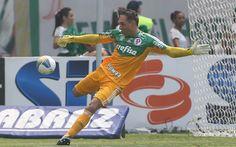 Fernando Prass - Palmeiras 1x0 Botafogo/SP - Allianz Parque - Campeonato Paulista 12/04/2015