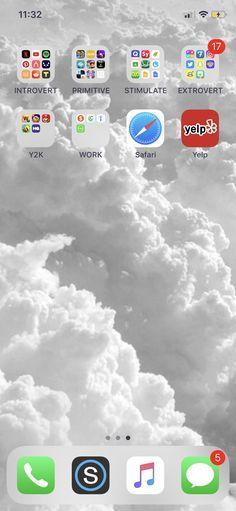 Organization on IPhone X