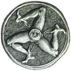 Trinacria (Tiskelion)coin, Syracuse 317-310 BC