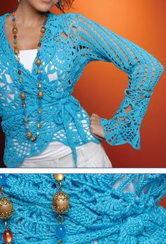 Crochet Lace Top, with full pattern in Spanish (Google translatable) and all the diagrams!!!