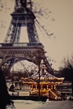 Paris during winter <3