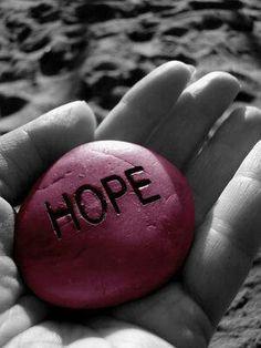 Hope is always essential.