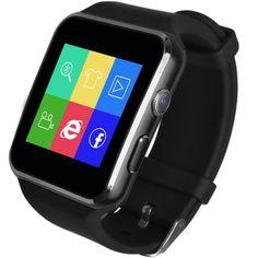 Curved Ultra HD Touch Screen X6 Smart Watch Camera FM Video Recorder Wristwatch
