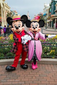 mickeymouse and minniemouse