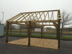 Double car port kits Available at www.arktimberbuildings.co.uk