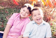 Fall days and brotherly love| professional family photos