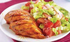 Poitrines de poulet à la mijoteuse Tandoori Chicken, Turkey, Meat, Cooking, Ethnic Recipes, Sauce Barbecue, Appris, Commerce, Baguette