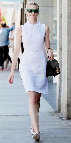 01b8f81d3aa 9 Celeb-Inspired Ways To Wear A White Dress This Spring via  WhoWhatWear  Simple