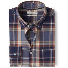 Cotton Shirts, Men's Shirts, Casual Shirts For Men, Men Casual, Check Shirt, Men's Clothing, Mango, Men's Fashion, Weaving