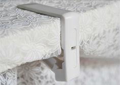 Popular 8 Unids Cubierta de Mantel de tela de Mesa Clip de Pinza de Resorte De Plástico Titular