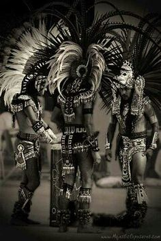 """Men are driven by two principal impulses, either by love or by fear.""    ~ Niccolò Machiavelli  * Danzantes Aztecas....  ॐ lis"