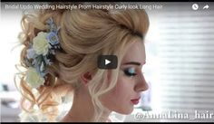 How To Create the perfect Party/Wedding Hairstyle – See Tutorial 💇 😍 👰 #makeup #followback #beauty