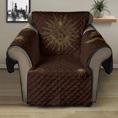 Wingback Chair, Armchair, Sofa Protector, Brown Sofa, Freemason, Stitch Patterns, Custom Design, Cozy, Flooring