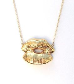Elephant Heart - Kiss Gold Necklace