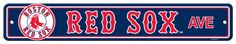 Boston Red Sox Street Sign Wall sign at AllPosters.com
