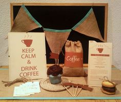 coffee party ideas!!! Omg sister we are soo doing this!!! Pin it! :)