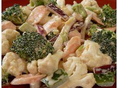Salade de brocoli et chou-fleur