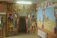 DECORACION COLEGIO EGIPTO - Buscar con Google