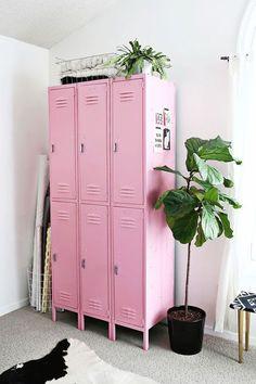 i spy: pastel pink + green.