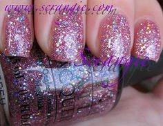 OPI Teenage Dream - had this done on my last pedicure and it looked great!