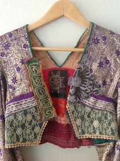 Kuchi (Afghan) jacket front