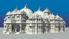 World's Biggest Hindu Temple (दुनिया का सबसे बड़ा हिंदू मंदिर) Hindu Temple, World's Biggest, Hinduism, Taj Mahal, India, Temples, Building, Travel, Google Search