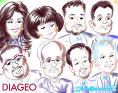 #DIAGEO wanted this group #caricature composed after their American Cut Steak House dinner in NYC. Thanks, folks!  #DIAGEO wanted this group #caricature composed after their American Cut Steak House dinner in NYC. Thanks, folks!  https://facebook.com/caricature.artist.nyc