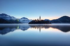 Feeling Blue, Lake Bled, Slovenia.