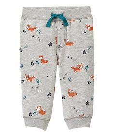 Look what I found on #zulily! Gray Fox Sweatpants - Infant #zulilyfinds