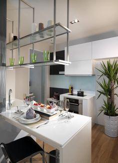 Cocinas mesa de cocina peque a mesas y sillas para la - Decoracion cocinas pequenas ...
