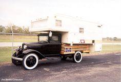 Good Sam Club Open Roads Forum: Truck Campers: Classic Truck and Camper!!!