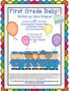 Kindergarten Boom Boom: K EOY Celebration Song