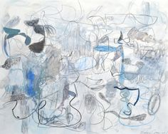 Brian Coleman, 'One Thing Leads To Another', Mixed Media on Canvas, 48x60 - Anne Irwin Fine Art