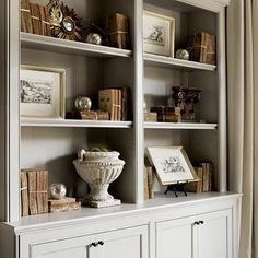 Greige Paint, French, living room, Sherwin Williams Amazing Gray, Atlanta Homes & Lifestyles