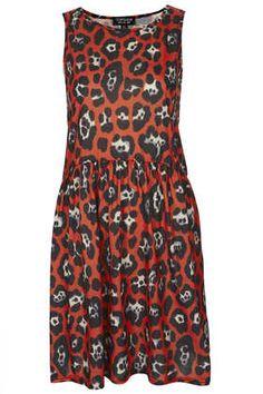 Leopard Relaxed Skater Dress