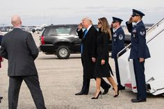 A day ahead of his inauguration, President-elect Donald J. Trump arrived in Washington to festivities and rituals.