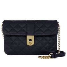Jaegar Kate Navy Quilted Bag Middleton Bags
