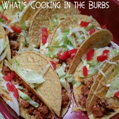 What's cooking in the burbs: Taco Enchilada Bake